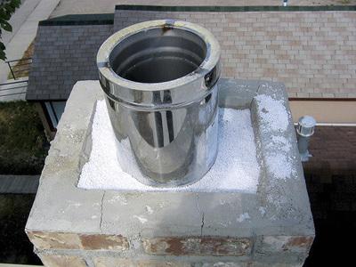 Гильзование (гильзовка) дымохода от компании Укрспецпроектсервис