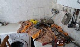 Чистка (пробивка) вентиляционного канала кухни