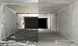 Чистка естественной вентиляции в многоквартирном доме от компании Укрспецпроектсервис