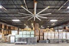 Правильная организация вентиляционной системы на складском помещении