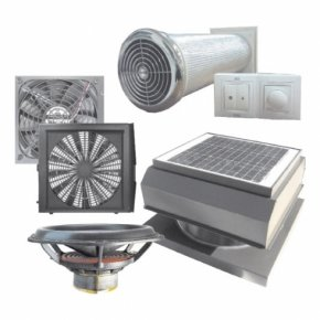 Типы систем вентиляции