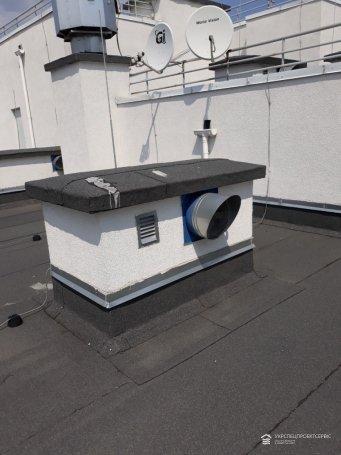 Диагностика крышных вентиляторов новостройки
