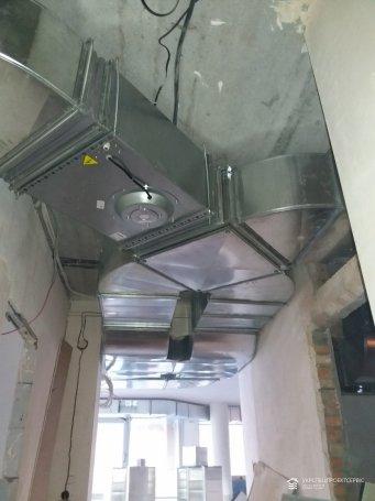 Монтаж приточно-вытяжной системы вентиляции и системы кондиционирования ЖК «Петровский квартал»