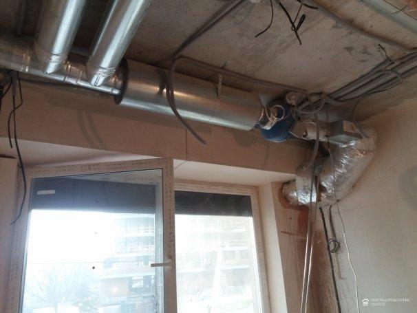 Монтаж приточно-вытяжной системы вентиляции с автоматическим пультом управления ЖК «ЖК GARDEN CITY RESIDENCE»