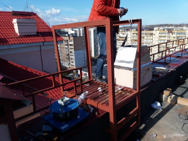 Гильзование вентиляционного канала в жилом доме «SHITL»