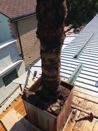 Монтаж дымохода на крыше в Соломенском районе