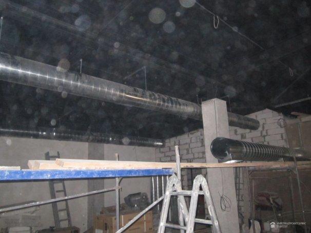 Монтаж приточно-вытяжной системы вентиляции и системы кондиционирования «АЙКОНКАРС»