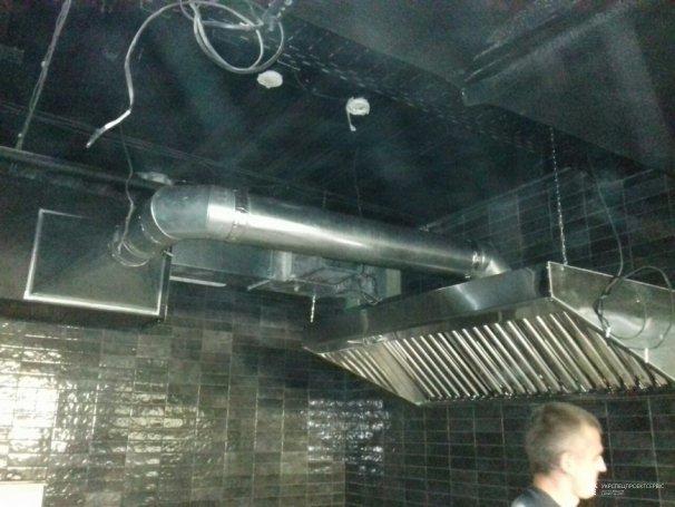 Монтажи вентиляции для Kyiv Food Market