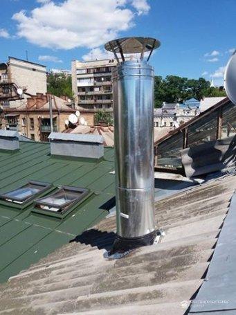 Монтаж вентиляционной трубы, наращивание вентиляционного канала