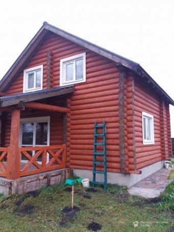 Монтаж дымохода деревянного дома из сруба